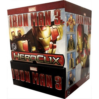 Marvel Heroclix: Iron Man 3 - Gravity Feed Booster