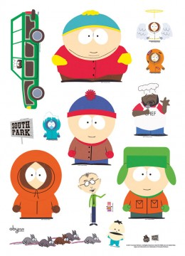 South Park: Wall Stickers 50x70cm