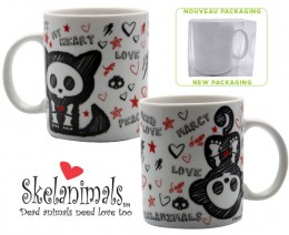 Skelanimals: Mug Sketchy Kit & Marcy 320ml