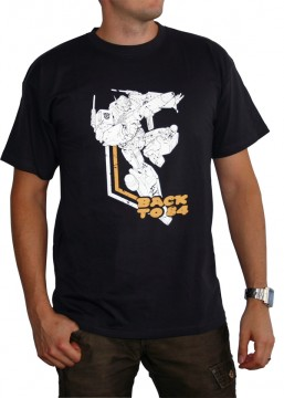 Transformers: T-shirt Back to 84 Black (Size S)