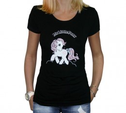 My Little Pony: T-shirt Snuzzle - Girl - Black (Size S)