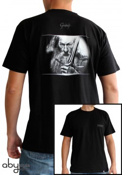 The Hobbit: T-Shirt - Gandalf - Black (Size M)