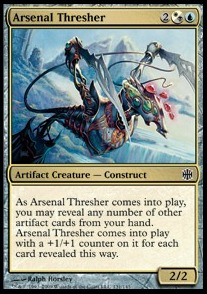 Trillador del arsenal / Arsenal Thresher