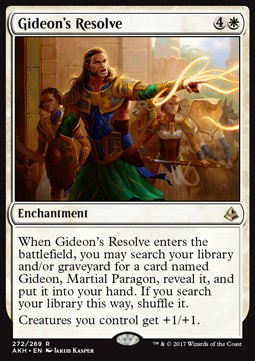 Determinación de Gideon / Gideon's Resolve