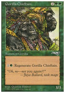 Cacique gorila / Gorilla Chieftain