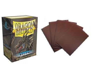 Dragon Shield - Fundas Brown