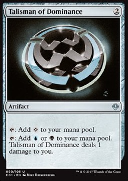 Talismán de la dominancia / Talisman of Dominance