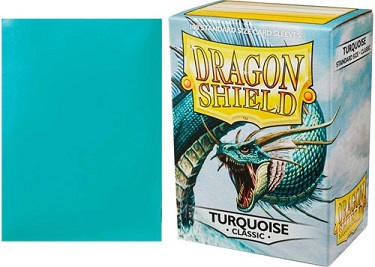 Dragon Shield - Fundas Turquoise