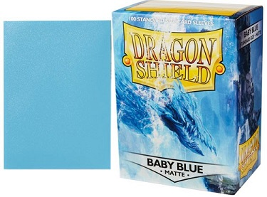 Dragon Shield - Fundas Baby Blue Matte