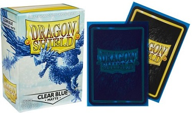 Dragon Shield - Fundas Clear Blue Matte