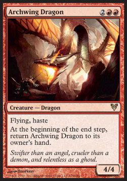 Dragón ala arqueada / Archwing Dragon