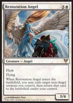 Ángel de la restitución / Restoration Angel