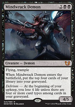 Demonio ruina mental / Mindwrack Demon