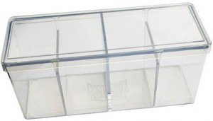 Dragon Shield - Caja acrilica transparente para 4 decks