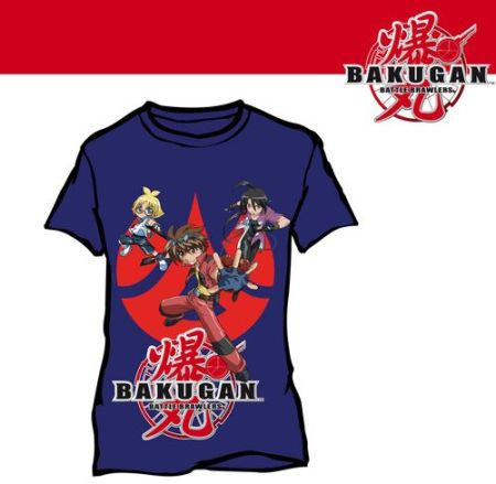 Bakugan: T-Shirt Bakugan - Blue (Size 5/6)