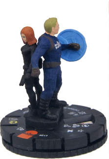 017 - Captain America and Black Widow