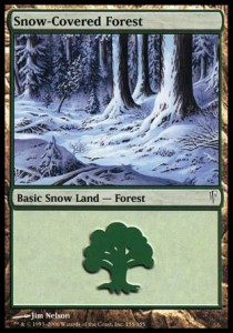 Bosque nevado / Snow-Covered Forest