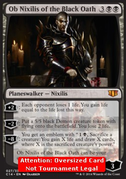 Ob Nixilis of the Black Oath  **Oversized**