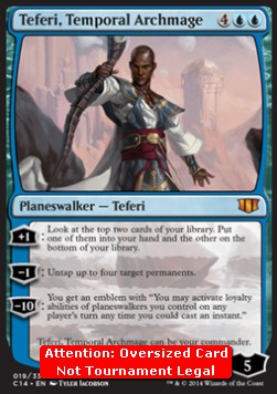 Teferi, Temporal Archmage **Oversized**