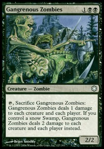 Zombis gangrenosos / Gangrenous Zombies