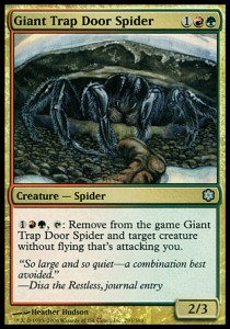 Giant Trap Door Spider