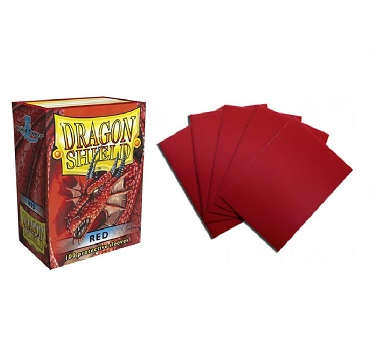 Dragon Shield - Fundas Red