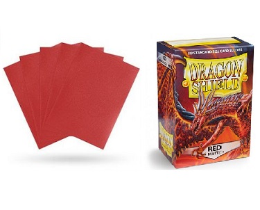 Dragon Shield - Fundas Red Matte