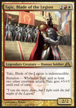 Tájic, Espada de la Legión / Tajic, Blade of the Legion