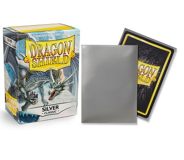 Dragon Shield - Fundas Silver