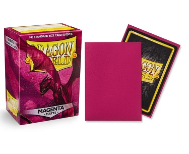 Dragon Shield - Fundas Magenta Matte
