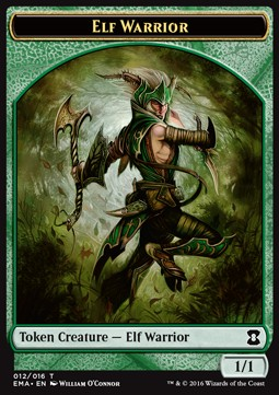 Token guerrero elfo / Elf Warrior Token