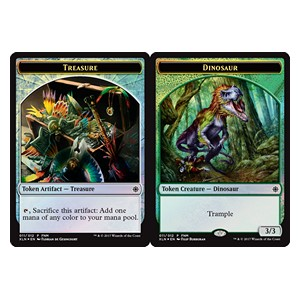 Treasure / Dinosaur Token **PROMO**
