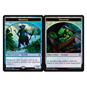 Token Triton / Tesoro / Merfolk / Treasure Token **PROMO**