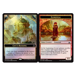 Token Bendicion de la Ciudad / Elemental /City's Blessing PROMO