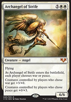 Arcángel del conflicto / Archangel of Strife