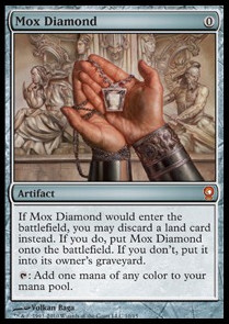 Diamante mox / Mox Diamond