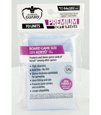 Ultimate Guard - Premium Soft Sleeves 64x102 (70 uds)