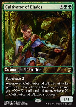 Cultivator of Blades **PROMO**