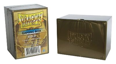 Dragon Shield - Deck Box Acrilico Dorado 100+
