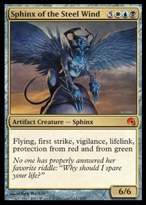 Esfinge del viento de acero / Sphinx of the Steel Wind