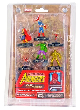 Marvel Heroclix: Original Avengers Fast Forces