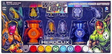 War of Light - Lantern Corps Power Batteries Orange & Indigo