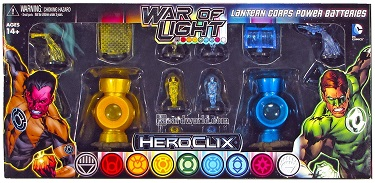 War of Light - Lantern Corps Power Batteries Yellow & Blue