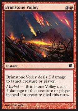 Descarga de azufre / Brimstone Volley