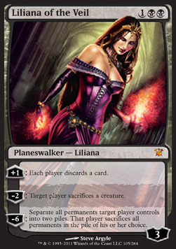 Liliana del Velo / Liliana of the Veil
