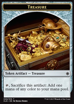 Token Tesoro / Treasure Token Nº008