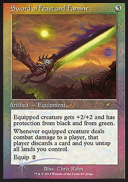 Espada de abundancia y escasez / Sword of Feast and Famine PROMO