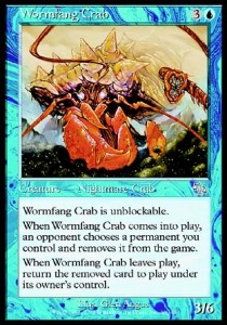 Cangrejo Colmillolombriz / Wormfang Crab