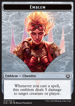 Chandra, aurora de la rebeldía/Chandra, Torch of Defiance Emblem