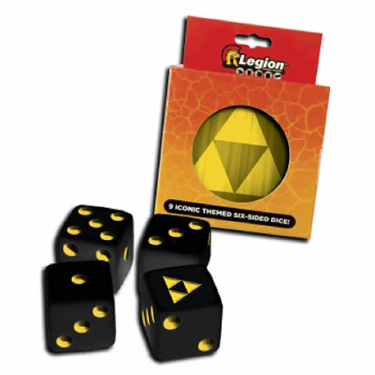 Pack 9 Dados D6 Legion - Iconic Tri-Force